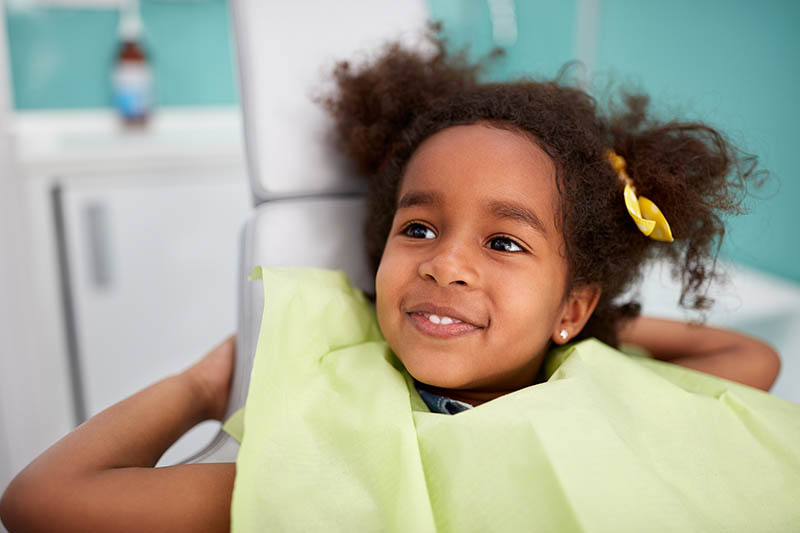 child with no tooth decay